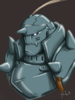 Alphonse Elric by lamp0s