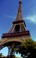 Eiffel Tower. by ColoredRain