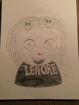 Lenore Figurehead by horrorshowfreak