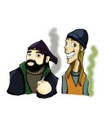 Jay and Silent Bob by Twolan