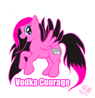 Vodka Courage by Makomaragi