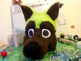 Forest the Husky Head 2.0 by FoxTone