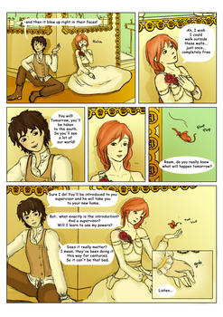 Flowercrown - Petals of Gold - Page 1 by NelaineIvory