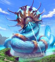 Water Colossus Edit by Farkwhad