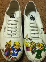 Wind Waker Shoez! by aawesomegamer