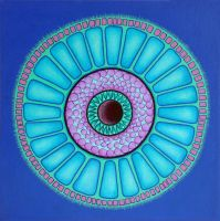 Centric Diatom by LorrieWhittington