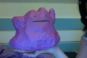 Ditto Papercraft by cheshire95