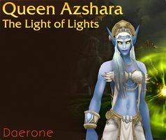 Azshara, Queen of the Kal'dorei by Daerone