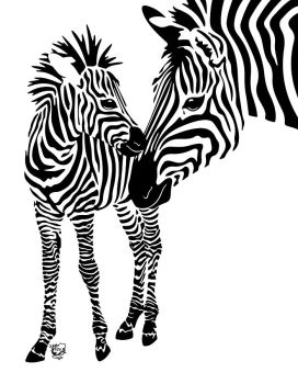 Love Stripes Two by FauxHead