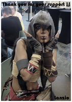 ::AC3 : Ratonhnake:ton cosplay preview :: by Lanzio