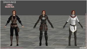 Dragon Age II: Leliana Model Pack by Berserker79