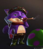 [FANART] Captain SolTeemo by SolitaryWolfXD