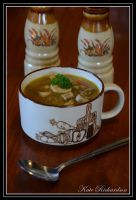Venison and Mushroom Soup by Purple-Dragonfly-Art