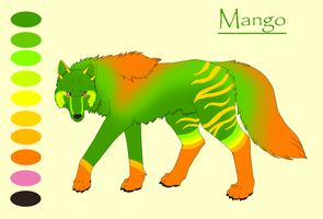 Mango by KamiraWolfDemon