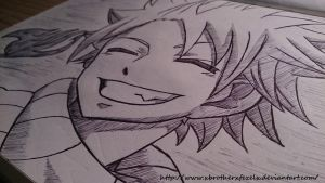 Fairy Tail: Natsu Dragneel by xBROTHERxFEZELx