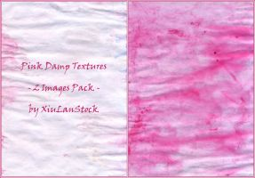 Pink Damp Textures Pack by XiuLanStock