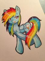 Rainbow Dash by Cupikagi