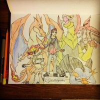 My Pokemon Team by KoteiYusuke777