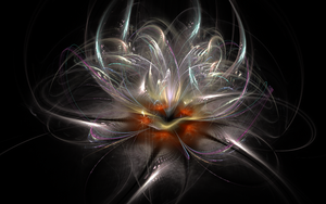 Pearl flower I by luisbc
