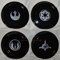 Star Wars Plates by Gnutzick