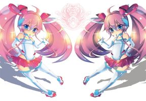 Twin tail Girl  2 by fabio-dayo