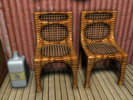 3D Kane Chairs by Barnman