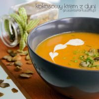 pumpkin soup with coconut milk by Pokakulka