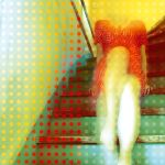 dots on the stairs by sipsic