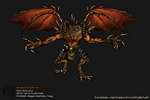 Winged Deathclaw Fallout 4 by AbyssalCerebrant