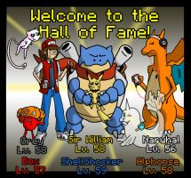 Yellow Nuzlocke: Hall of Fame by Kame-Ghost