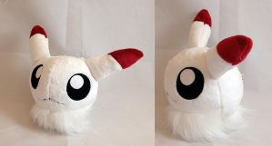 Digimon - Puffmon custom plush by Kitamon