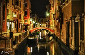 Venetian Night.. by AlFuraih