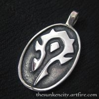 The Horde pendant (silver) by Sulislaw