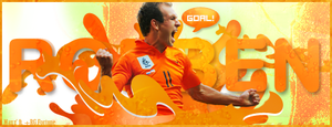 Arjen Robben - Holland by maxzon