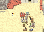 Market Scene in the game Guardians of the Rose by PixelxPixelGames