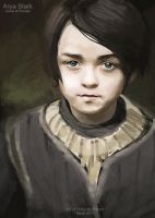 Arya Stark by CplSquee