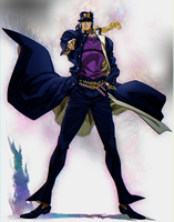 Classic Colored Jotaro by Robogineer