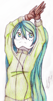 Miku Matryoshka - Coloured by xXAluniaXx