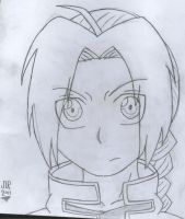 edward elric :sketch: by kirbygirl4223