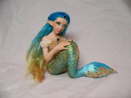 'Vella'  ooak mermaid by AmandaKathryn