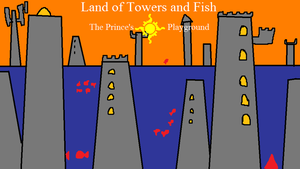 Land of Towers and Fish by arandombard