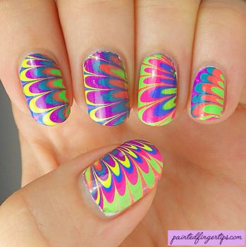 Neon-pipe-dream-anivc-water-marble by Painted-Fingertips