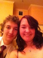 me and my bf at prom :) by mydogbridget