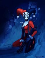 Harley Quinn by CasCanete