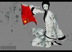 Flag of China by shy-smile