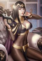 Tharja (Fire Emblem Awakening) by Moonarc