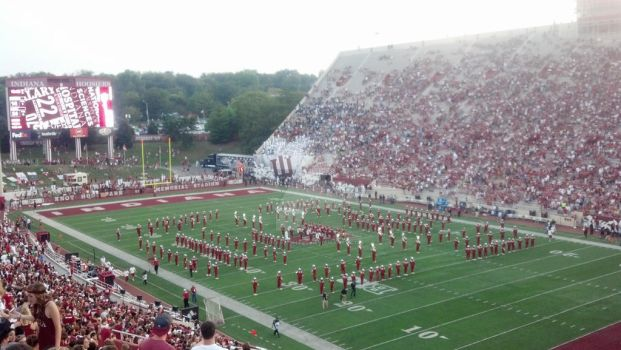 IU Football Game by lunarlight94