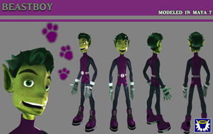 BeastBoy - Version 2 by BlueSerenity