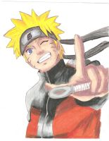 Naruto Uzumaki by screwston12