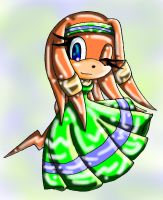 BDAY GIFT_tikal the echidna by ASB-Fan